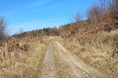 Podjazd do źródła Ślężan